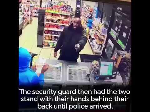 Robber: The Gun is Fake! Good Samaritan: Oh Well, Mine is Real!