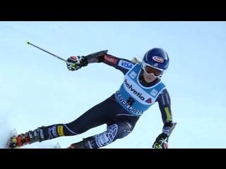 Идельано видно технику Mikaela Shiffrin Инструктор по горным лыжам в Австрии.mp4