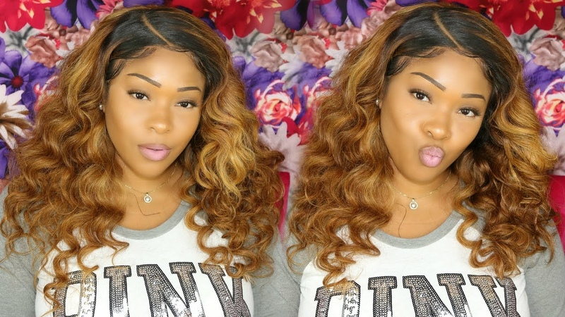 How To: Dye Weave Lace Frontal From Black To Honey Blonde | Custom Wig | MarchQueen