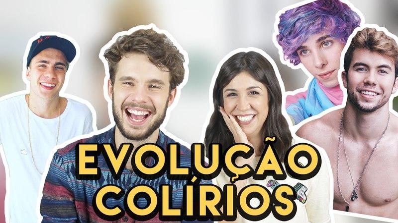 ANTES E DEPOIS DOS COLÍRIOS ft. CAÍQUE NOGUEIRA | Foquinha