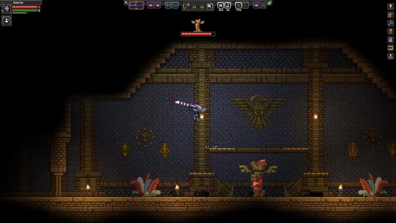 Starbound 9 Поход в храм Авиан