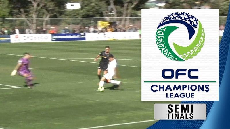 OFC CHAMPIONS LEAGUE 2018 | Semi Final 1st Leg - Team Wellington v Auckland City FC Highlights