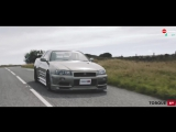 TorqueGT: Nissan Skyline GT-R Nur против Mazda RX-7 Spirit R