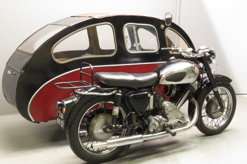Panther Model 100 1956 с коляской Busmar Astral