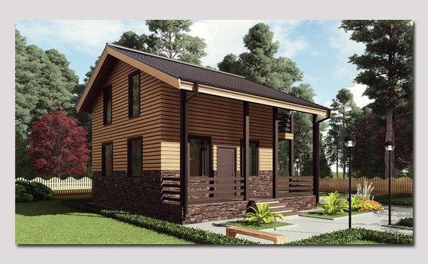 Одноэтажный дом M732
