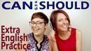 Can and Should English Grammar Modal Verbs