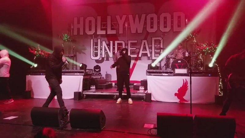 HOLLYWOOD UNDEAD USUAL SUSPECT @ THE PLAZA LIVE ORLANDO (10_3_17)