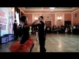 ТУРНИР. Латиноамериканская программа Стеряков Володя и Абакаева Дарья. МАРТ 2018