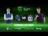 NewBee vs OG The Bucharest Major