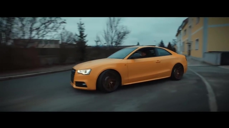 Bagged Audi S5 B8 Coupe w⁄ ARMYTRIX Cat-Back Exhaust Rotiform Wheels By ATHLT CarPerformance