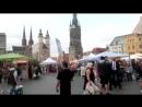 Eröffnung Multikulturelle Woche Gegenprotest Halle Saale am 26 9 2016