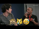 Darren Criss and Leslie Odom Jr. Emoji Music Challenge #1 rus subs | русские субтитры