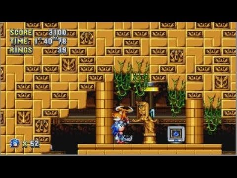 Sonic Mania Labyrinth Zone - Walkthrough