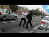 Разборки водителей на Ленинградском шоссе