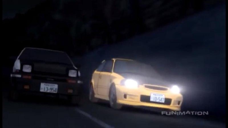 Initial D Takumi Blind Attack
