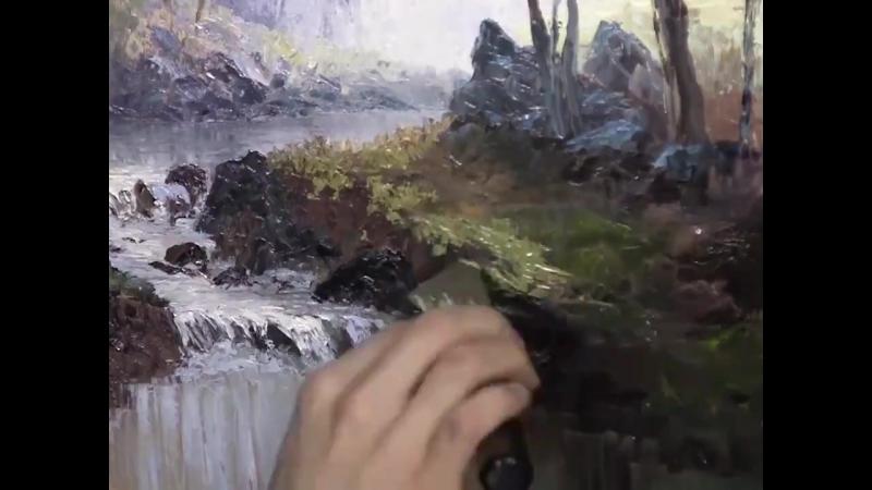 Kevin Hill рисует пейзаж