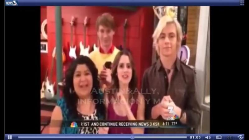 Видео-обращение каста сериала «Остин и Элли» к поклоннице