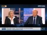 Marine Le Pen sur l'Alg