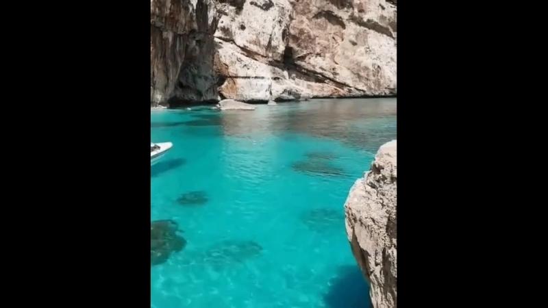 Шикарный пляж Кала Мариолу Баунеи Сардиния 🇮🇹☀