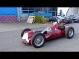 Alfa Romeo Alfetta 158 Drive at Jim Stokes Workshops Ltd.