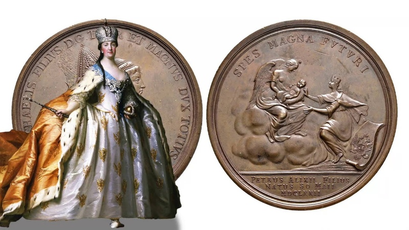 Russian Medals: Peter the Great of Russia