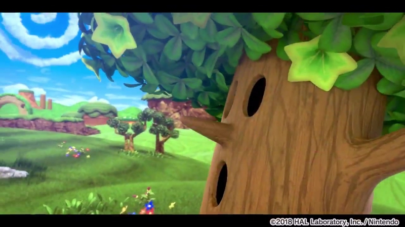 Отрывок начальной заставки Kirby Star Allies