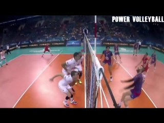 Top 20 amazing angle of attack. monster volleyball 3rd meter spike (hd)