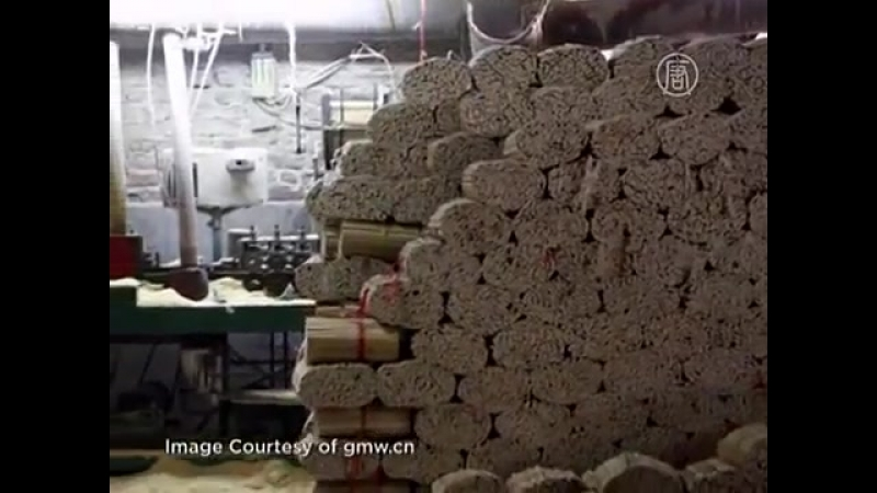 Леса в Китае вырубают ради палочек для еды