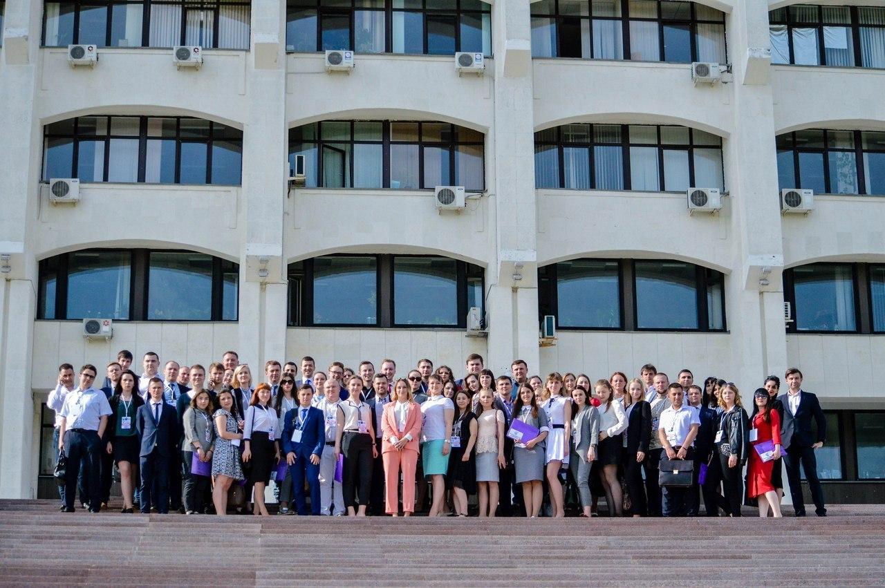 Калужане приняли участие в молодежном Саммите ЦФО «Политический рубеж»