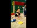 В песочке