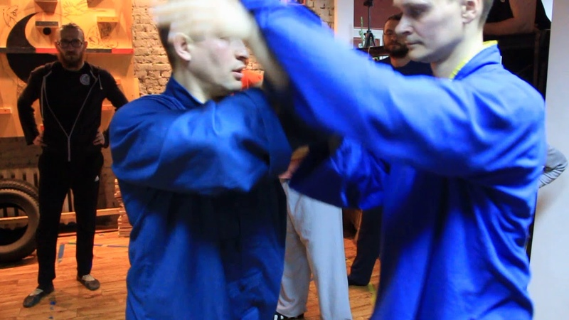 Taijiquan Pushing hands working moments 2