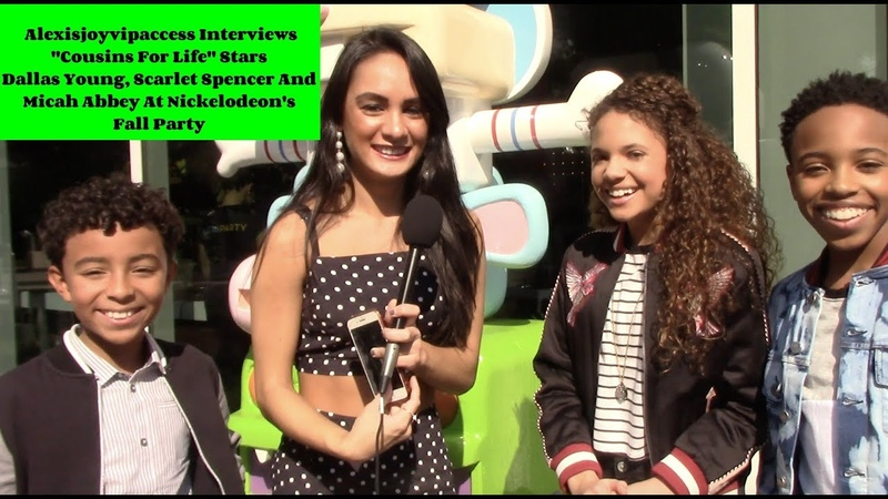 Cousins For Life Cast Interview With Alexisjoyvipaccess - Micah Abbey, Scarlet Spencer, Dallas Young