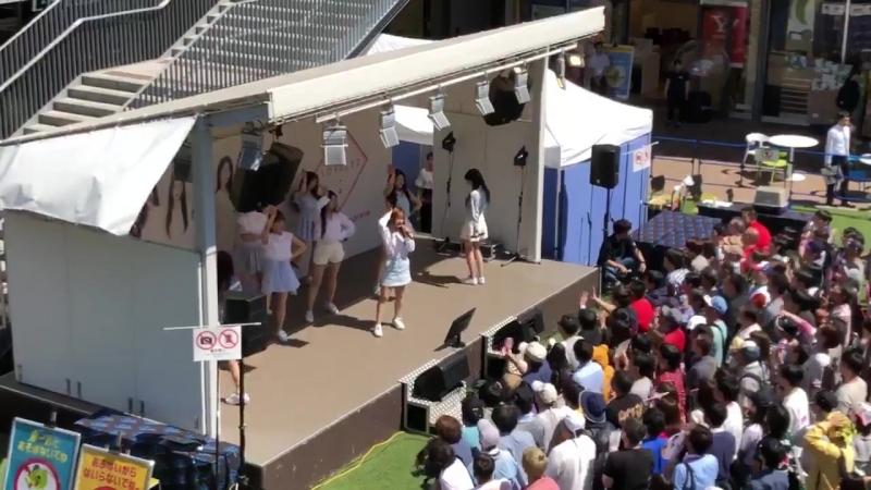 180602 ღ Lovelyz - That Day ღ Morinomiya Cues Mall BASE, Osaka