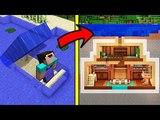 НУБ НАШЕЛ СЕКРЕТНУЮ ПОДВОДНУЮ БАЗУ В МАЙНКРАФТ! Нубик построил Троллинг Ловушка Minecraft Мультик