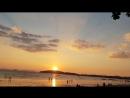 Закат на пляже Ао Нанг. День 1. Женский йога ретрит, ведущая и организатор Жанна Злотникова.
