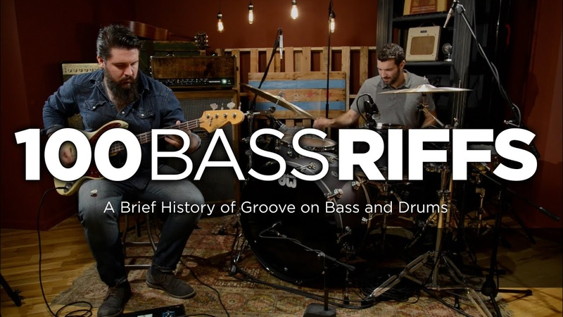 100 Bass Riffs: A Brief History of Groove on Bass and Drums | CMEBassment | Marc Najjar