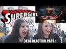 SUPERGIRL 3X14 SCHOTT THROUGH THE HEART REACTION PART 1