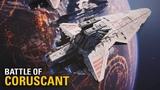 Battle of Coruscant ROTS Map Mod 4K Gameplay Star Wars Battlefront II