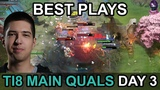 TI8 BEST PLAYS Main Quals CISSAChina DAY 3 Highlights Dota 2 by Time 2 Dota #dota2