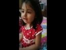 Cute Gril Amaira Sing Poem Kaccha Aam Khane se Muh Mithha Ho Jata Hai_ 😘😘