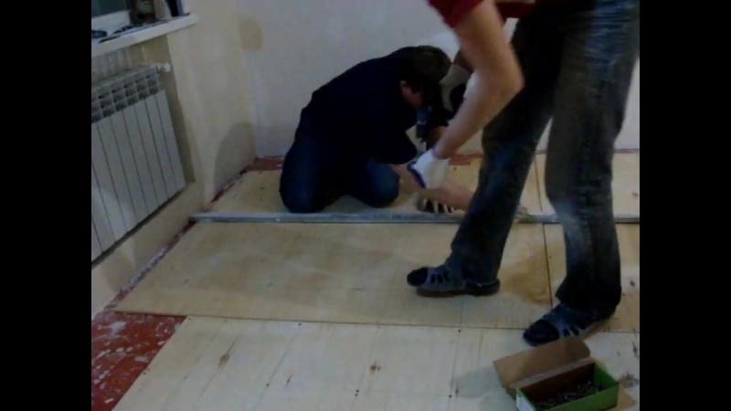 Как выровнять пол своими руками под ламинат линолеум напольные покрытия Refinishing Wood Floors