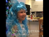 Реакция девочки на наше видео-поздравление от Деда Мороза!