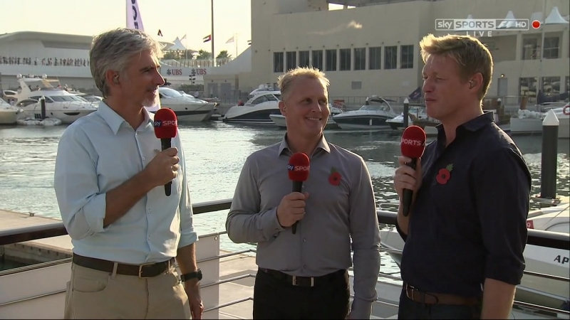 Гран-при Абу-Даби 2012. Pre-Race [Sky Sports]