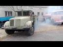 Грузовик Татра-111 (1941-1944 гг.) на ходу