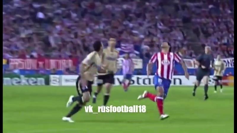 Атлетико 2:1 Марсель | Лига Чемпионов 2008/09