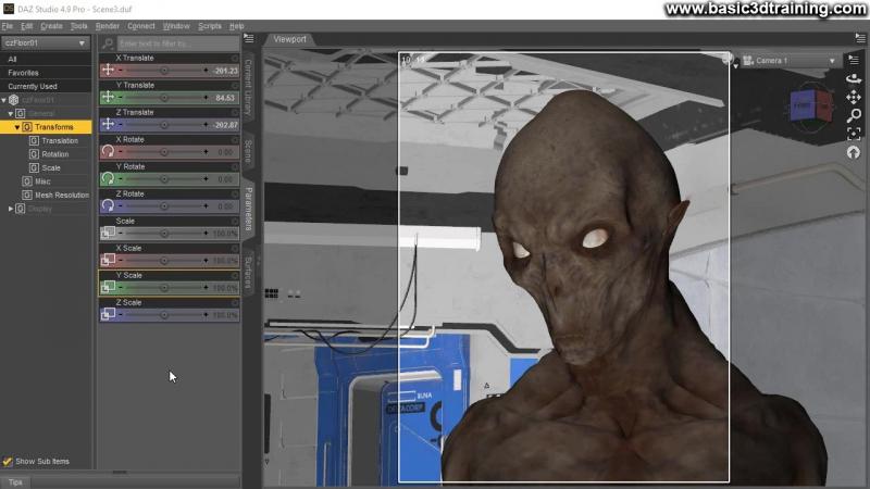 Portrait of An Alien Video 1