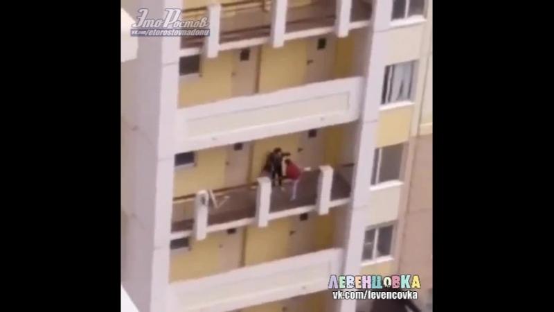 Подростки на улице Жданова (Левенцовка)— Это Ростов-на-Дону!