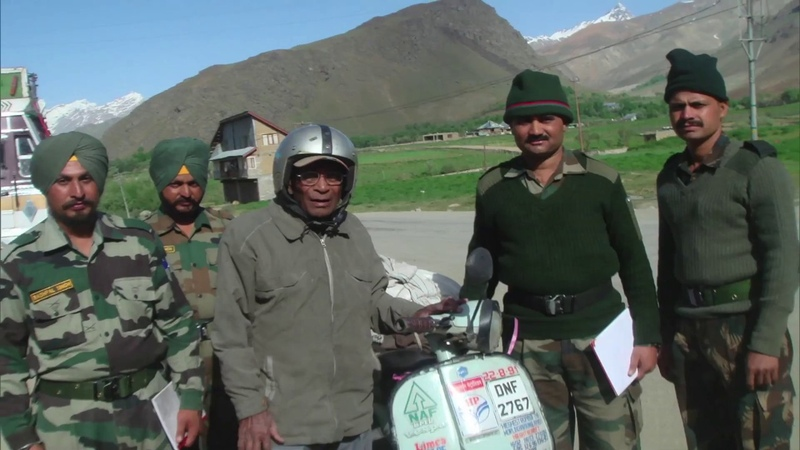 Good Evening India Conversation with JP Bhattnagar who rode to Ladakh three times on a scooter