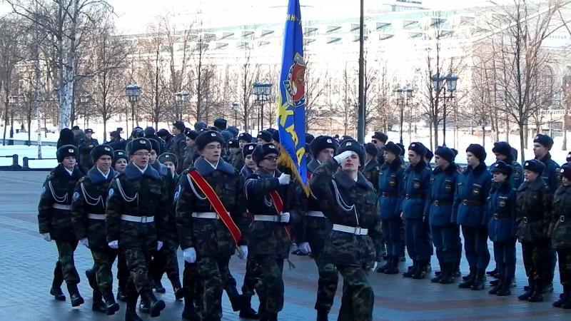 Александровский сад 24.02.2018 | Держава <3