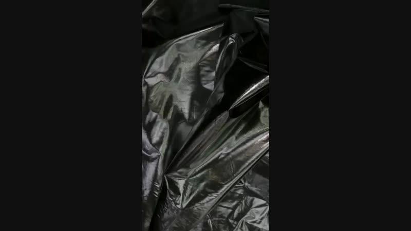 Обзор плащевка фольга